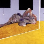 1971 Francis Bacon - Lying figure in a mirror