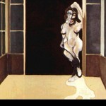 1972 Francis Bacon - Female Nude Standing in a Doorway