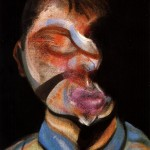 1972 Francis Bacon - Three studies for self-portrait left