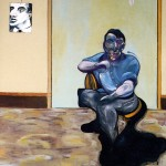 1973 Francis Bacon - Portrait of Lucian Freud Sun