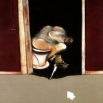 1973 Francis Bacon - Triptych, left