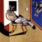 1974 Francis Bacon - Seated Figure
