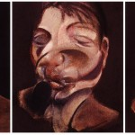 1974 Francis Bacon - Three Studies for Self-Portrait