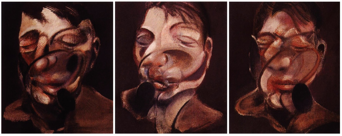 1974 Francis Bacon – Three Studies for Self-Portrait | YOU - BOOK ...