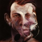 1975 Francis Bacon - Three Studies for a Portrait of Peter Beard, left