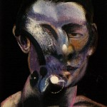 1975 Francis Bacon - Three studies for a portrait of peter board - center