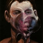 1975 Francis Bacon - Three studies for a portrait of peter board center