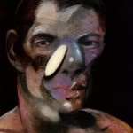 1975 Francis Bacon - Three studies for a portrait of peter board - left