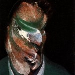 1976 Francis Bacon - Study for Head of Lucian Freud