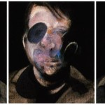 1976 Francis Bacon - Three Studies for Self Portrait
