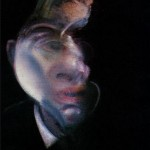 1979 Francis Bacon - Three Studies for a Self-Portrait, left panel