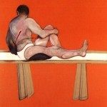 1979 Francis Bacon - Triptych, left