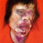 1982 Francis Bacon - 3 Studies for a Portrait of Mick Jagger, center