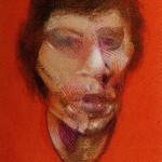1982 Francis Bacon - 3 Studies for a Portrait of Mick Jagger, left