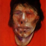 1982 Francis Bacon - 3 Studies for a Portrait of Mick Jagger, right