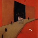 1983 Francis Bacon - Figures in a street