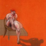 1983 Francis Bacon - Triptych, left