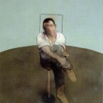 1984 Francis Bacon - 3 Studies for a Portrait of John Edwards, center
