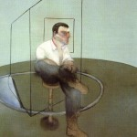 1984 Francis Bacon - 3 Studies for a Portrait of John Edwards, left