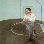 1984 Francis Bacon - 3 Studies for a Portrait of John Edwards, right