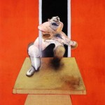 1985 Francis Bacon - Figure in movement