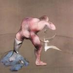 1989 Francis Bacon - Man at Washbasin