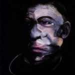 1990 Francis Bacon - Portrait of Jacques Dupin